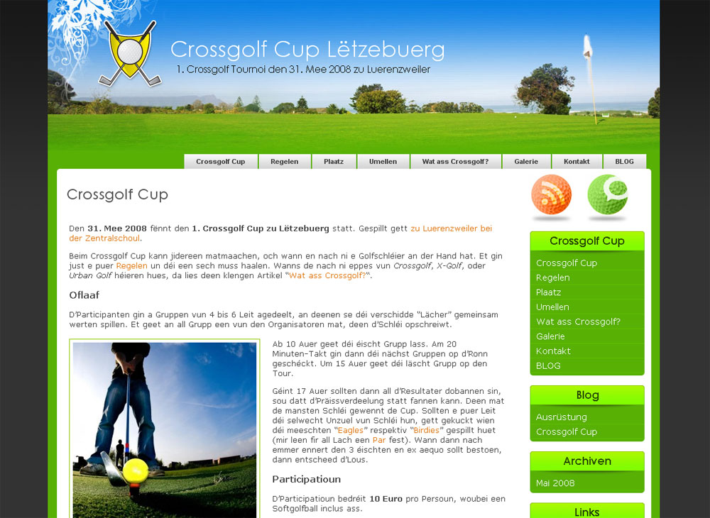 Crossgolf Cup