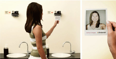 Polaroid Spiegel